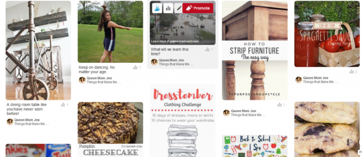 We would like to introduce you to the Best of The Happy Now Pinterest Board! Make sure to follow it!