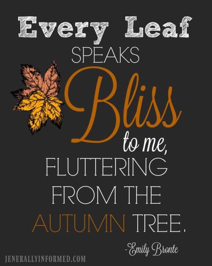Grab this adorable Fall printable for free right now!