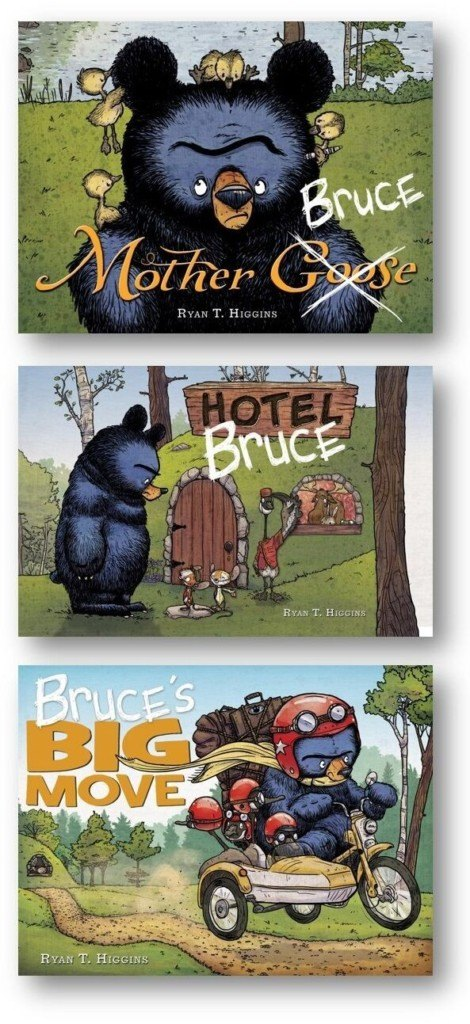 A New Book And A New Giveaway: Bruce's Big Move!