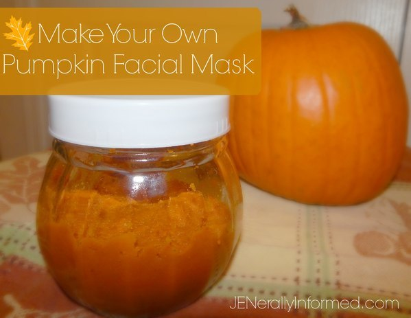 Here's how to make your own pumpkin facial mask!