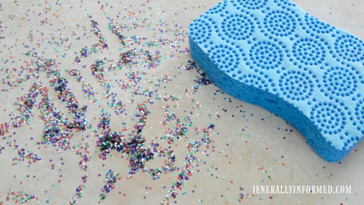 Clean up tough messes with Scotch-Brite® Scrub Dots! #PowerOfDots #ad