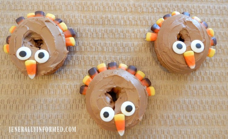 Turkey donuts! The Thanksgiving tradition you have been waiting for.
