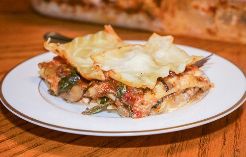 Hearty Vegetable Lasagna From Health, Home & Heart.