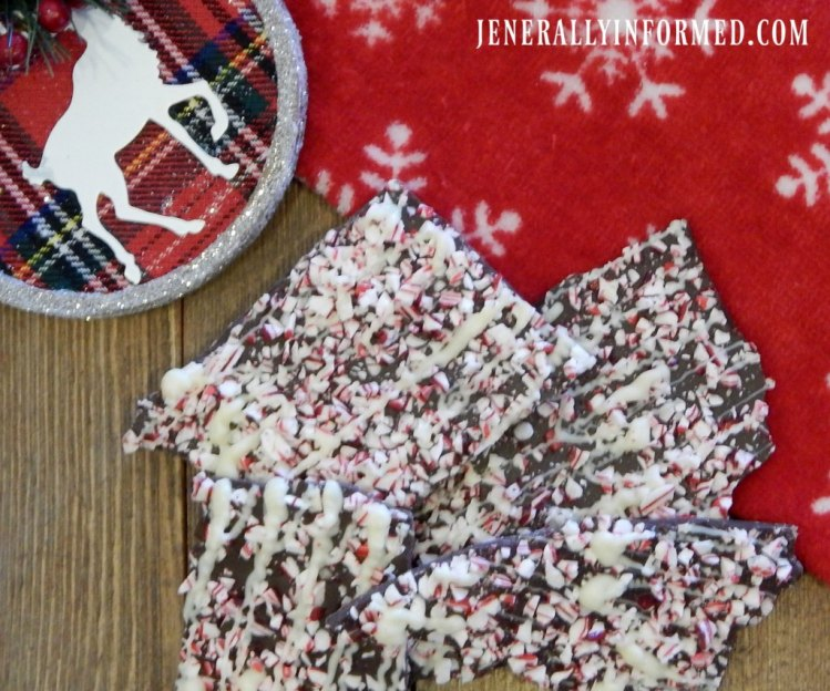 Semi-homemade at it's best, just in time for Christmas entertaining! Check out this recipe for deliciously easy Chocolate Peppermint Bark Donuts.