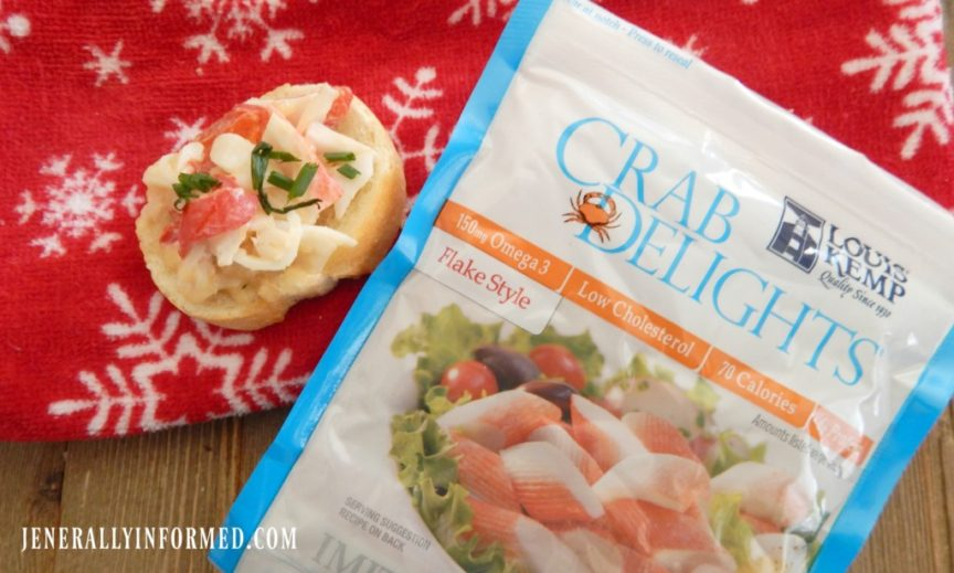 Deliciously Easy Appetizers With Pizazz: Hot Crab Crostini!