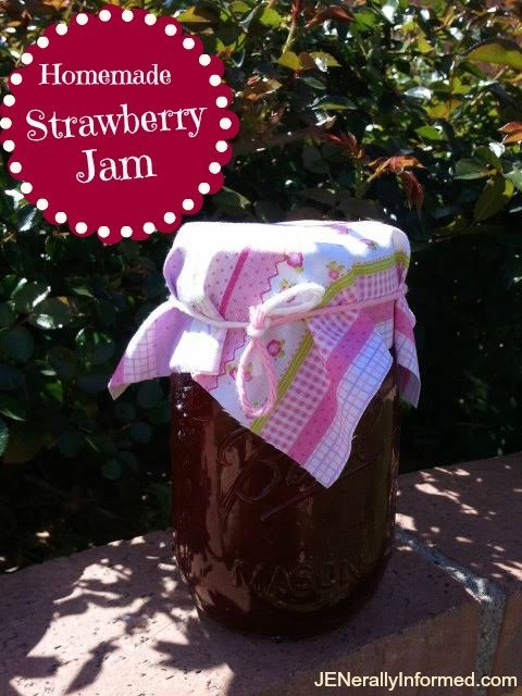 How to mke homemade strawberry jam in just under 30 minutes!
