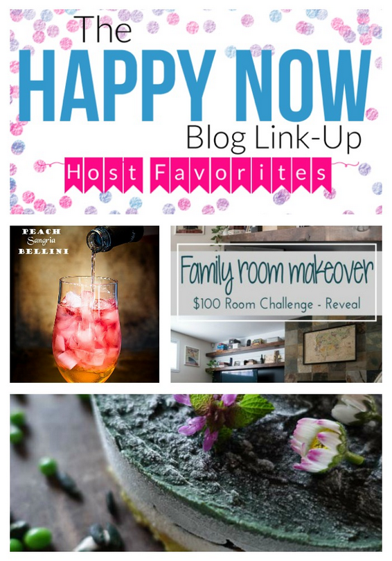 Congrats Happy Now Link-up week #99 faves and features!