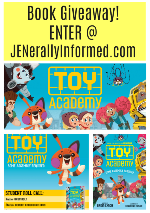 It's Book Giveaway Time! Enter for a chance to win a copy of the new book #ToyAcademy @Scholastic