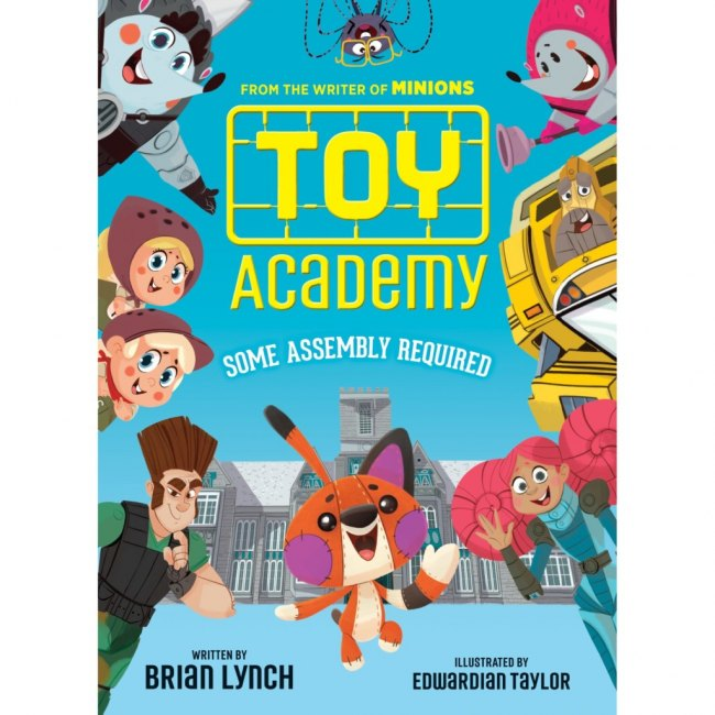 It's Book Giveaway Time! Toy Academy.Where toys learn to play.