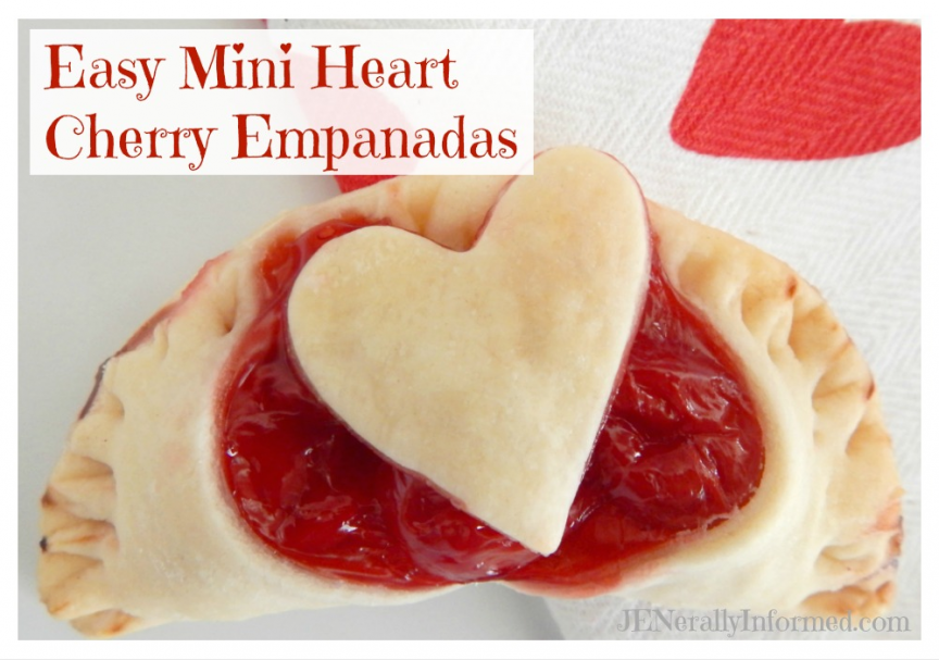 Easy Mini Heart Cherry Empanadas: A new twist on an old favorite!