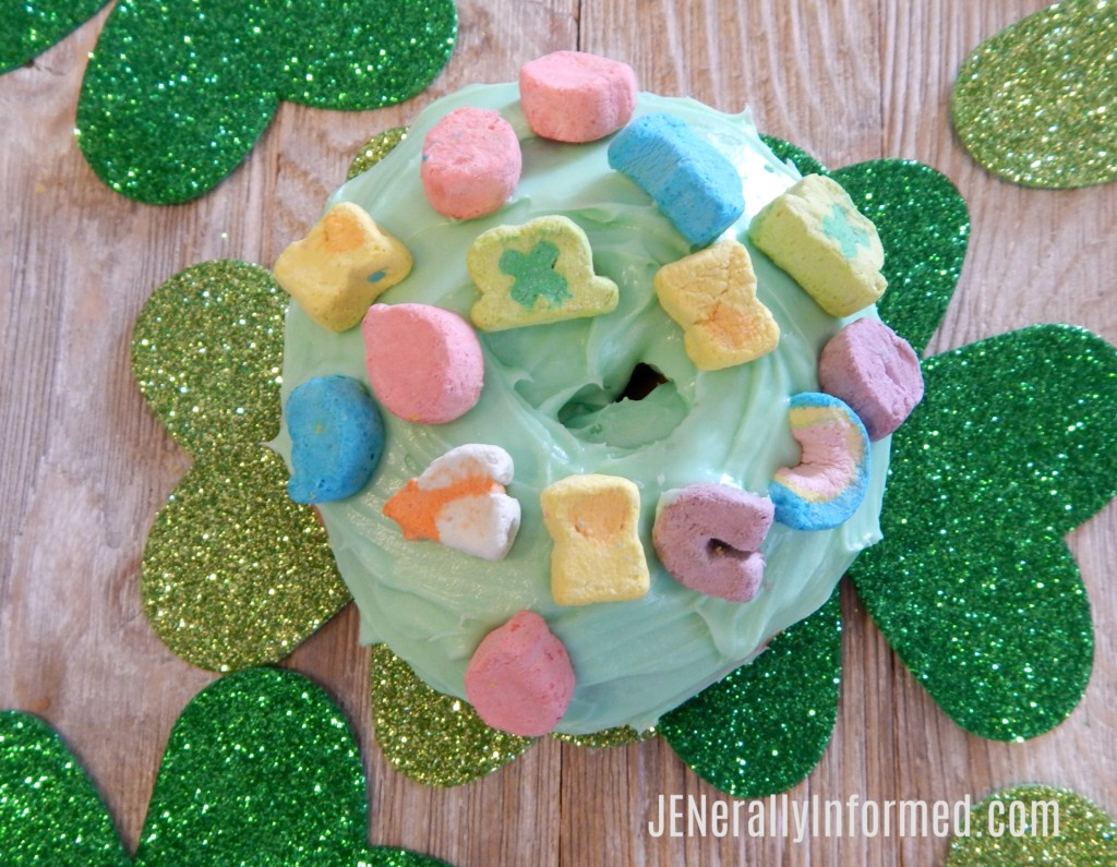 Easy St. Patrick's Day Donuts