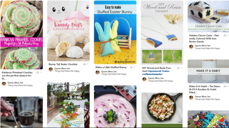 Check out both of our Happy Now Link-Up faves and features Pinterest boards!