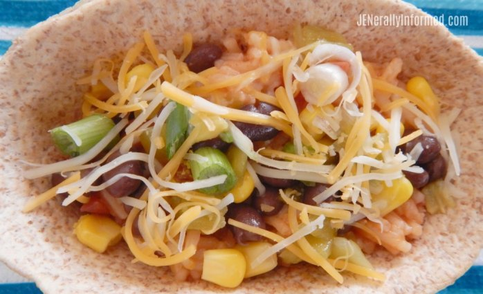 Try these deliciously easy and inexpensive to make #vegetarian taco boats!