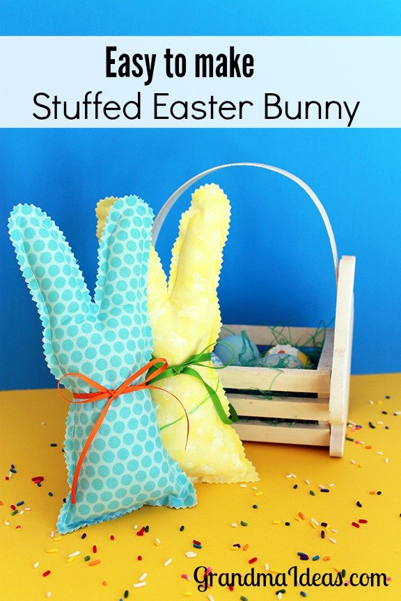 Make a Little Stuffed Bunny from Grandma Ideas.