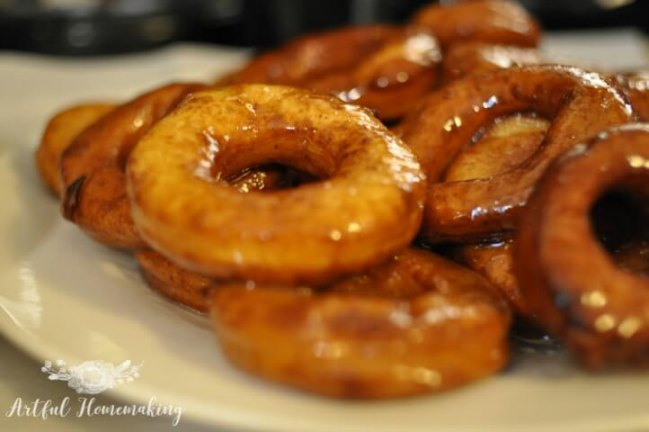 How to Make Homemade Doughnuts from Artful Homemaking.