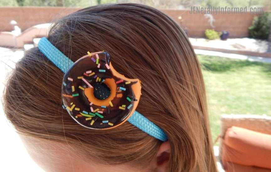 Learn how to make this super cute and easy donut headband!
