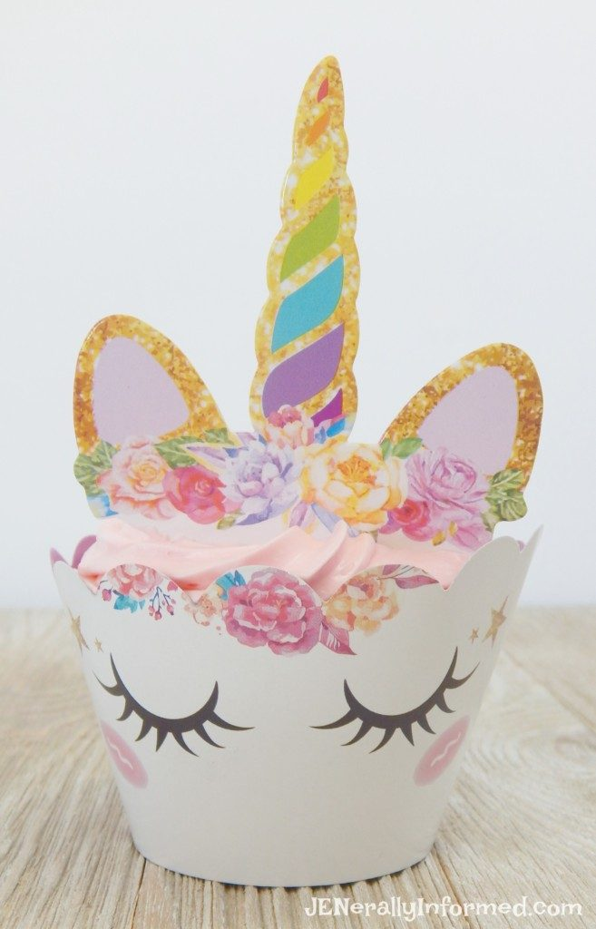 Learn how to make easy & magical unicorn cupcakes!
