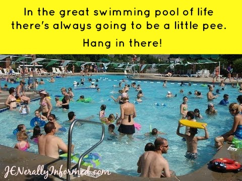 That pool of life might be a little murker than you think. enjoy!