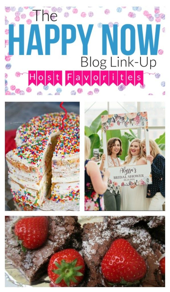 Congrats week #122 Happy Now Link-up faves and features!