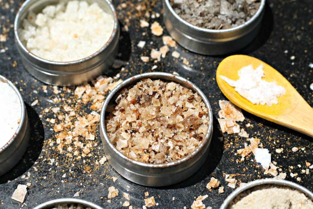 Flavored Salts -An easy guide to save money and make your own from Looney For Food.