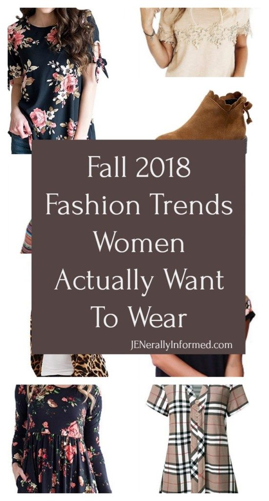 Looking for some real fashion trends for this upcoming Fall? Make sure to check this post out!
