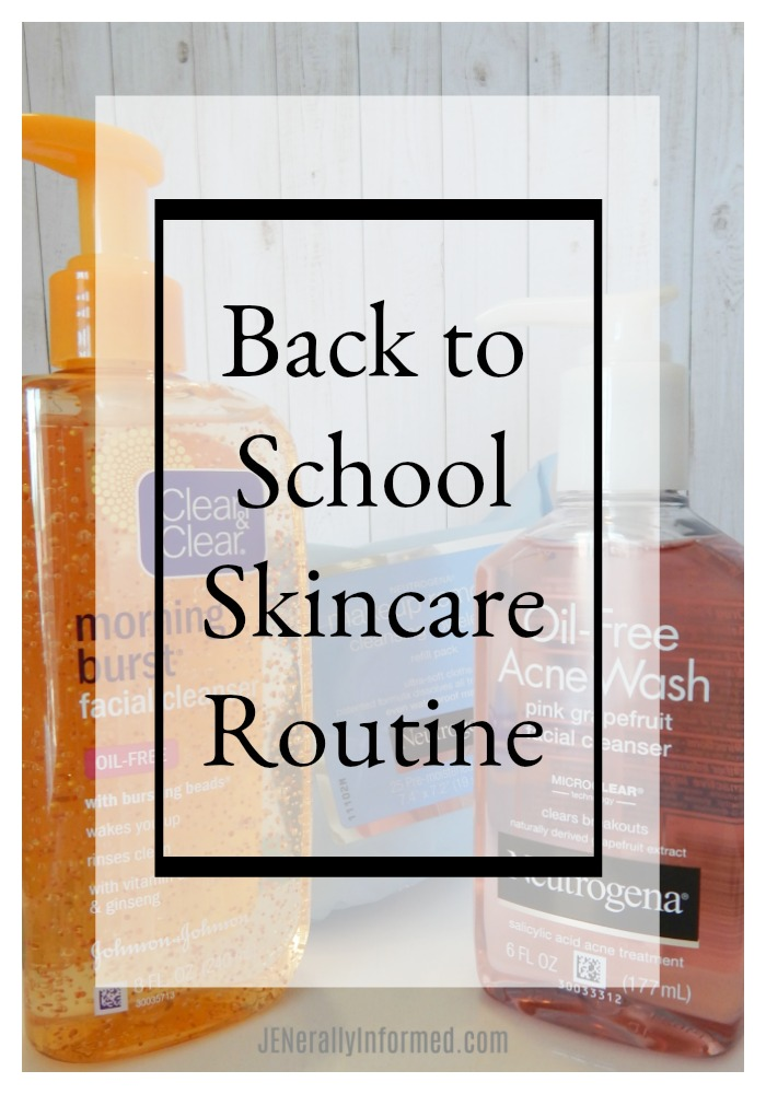 Get them ready for back to school with a winning skincare routine!