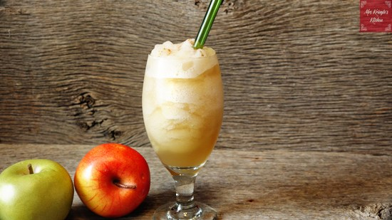Apple Cider Slush from Mrs. Kringle's Kitchen.