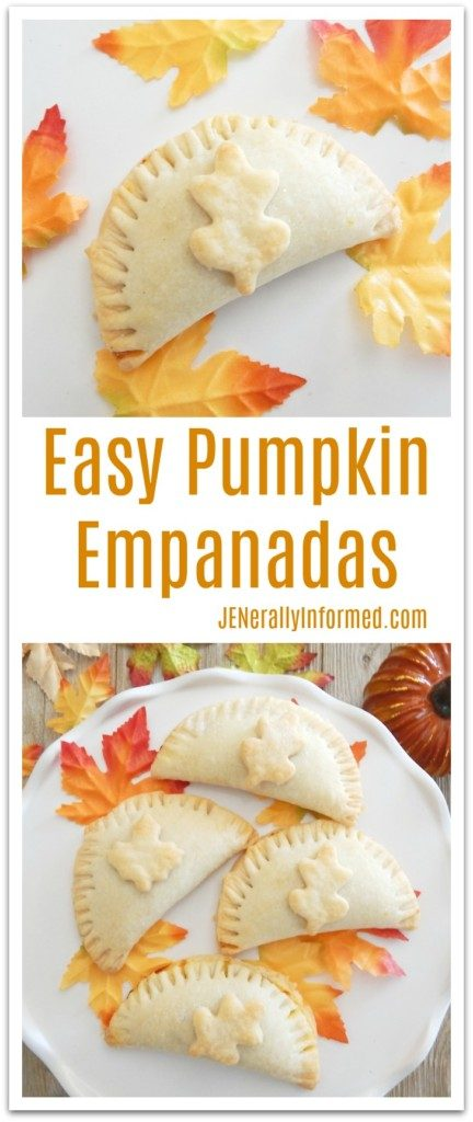 With a few shortcuts learn how to make these deliciously easy pumpkin empanadas!