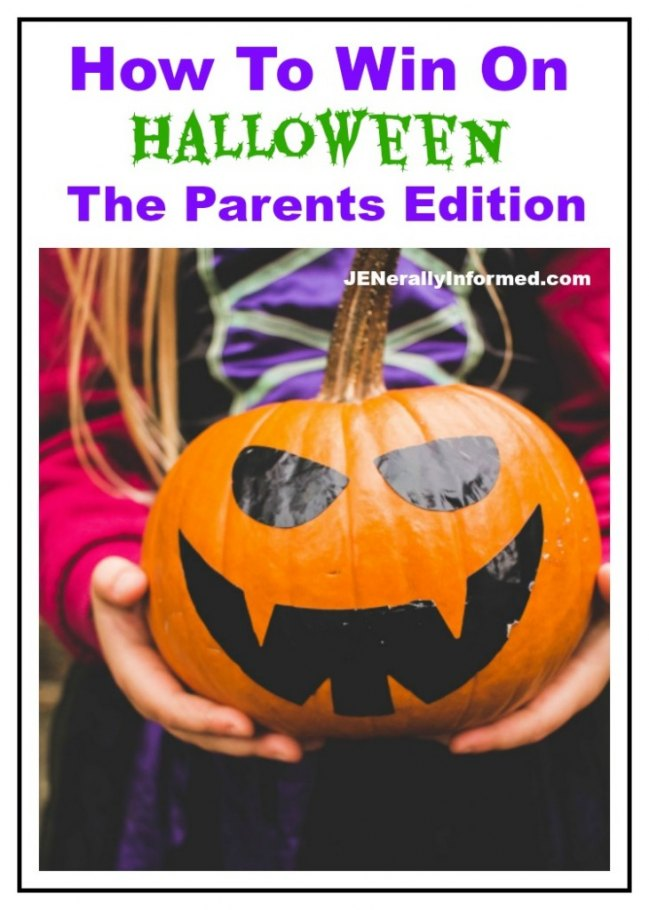 How To Win On Halloween: The Parents Edition #Halloween #Parenting #kids #funny