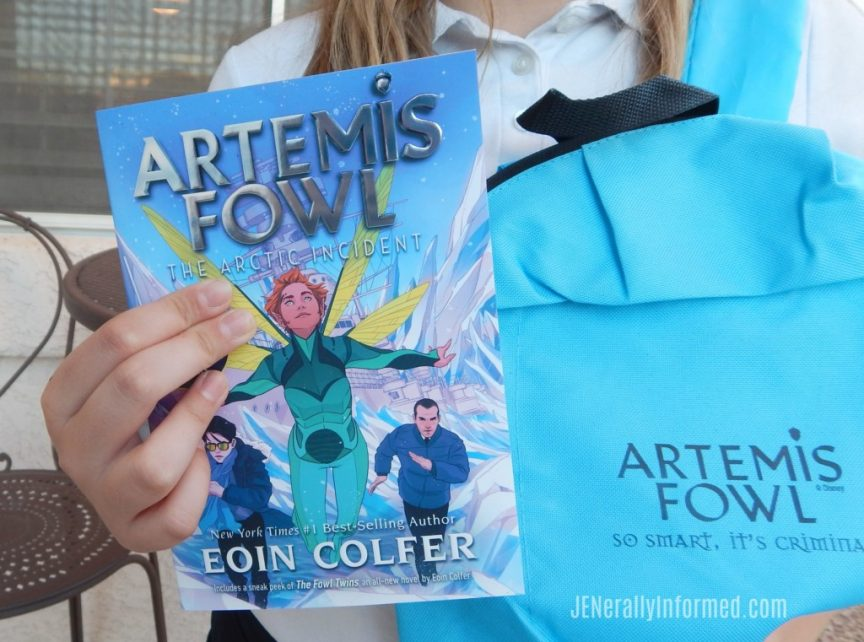 The boy genius is back with re-designed covers! #ArtemisFowl @disneybooks #ad