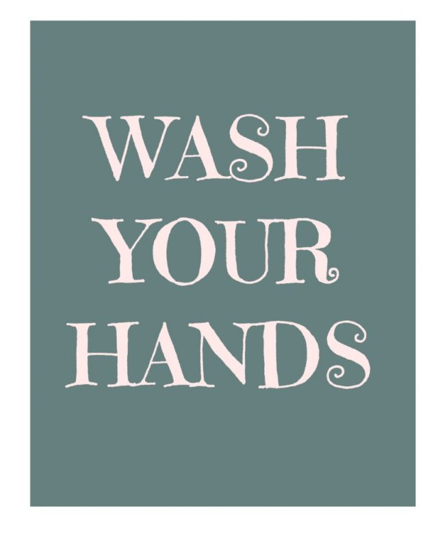Print this Adorable Wash Your Hands Printable NOW!