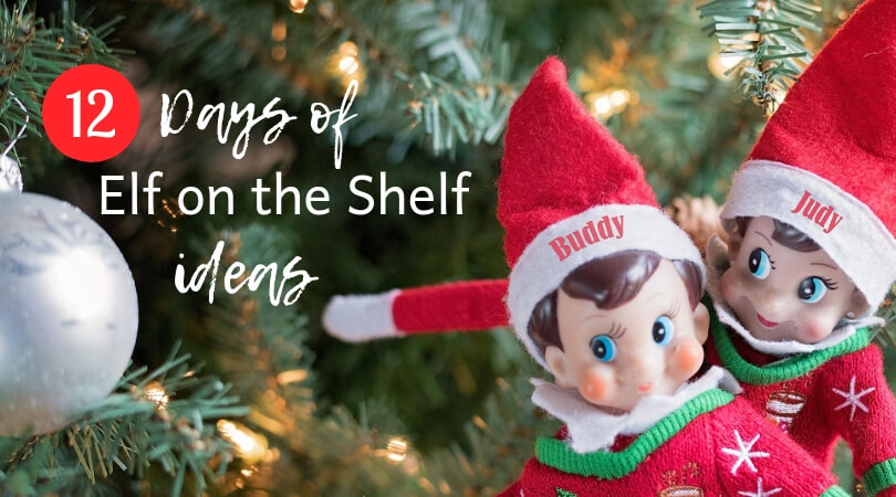12 Days of Elf on the Shelf Ideas My Toddler Loved from Mom Succeeds.