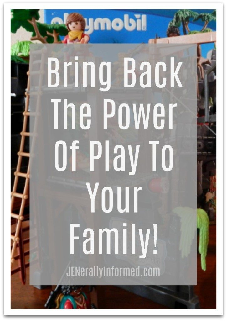 Bring Back The Power Of Play To Your Family! @Walmart @playmobilusa #PlayWithPlaymobil #ad