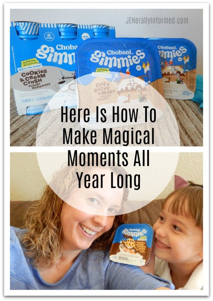 Looking to make more magical moments for you and your kids all year long? Here's how! #GimmiesFun #ad