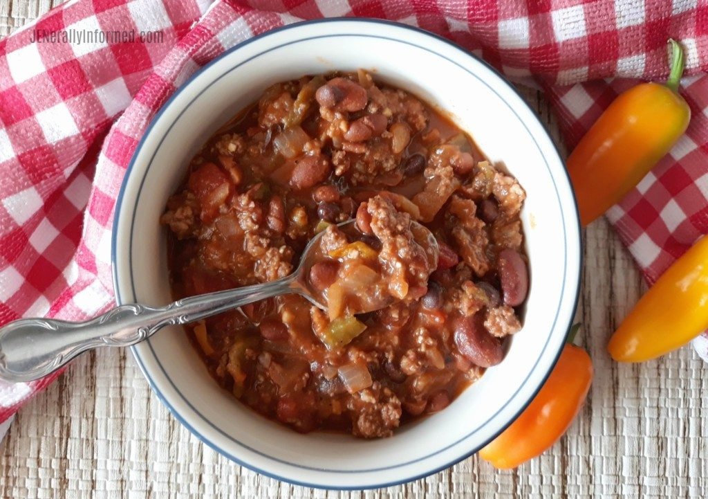 Check out the recipe for the best chili ever known to man!