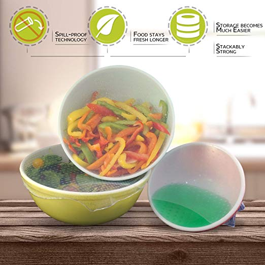 Throw out the old plastic containers and wrap to make way for your new best friends in the kitchen from KokenArt!