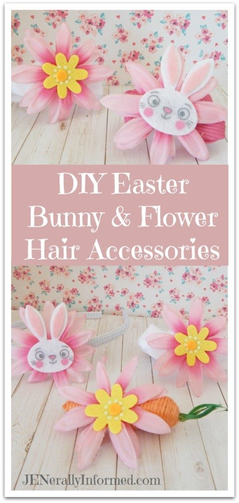 Learn how to make these adorable DIY hair accessories just in time to welcome Spring!