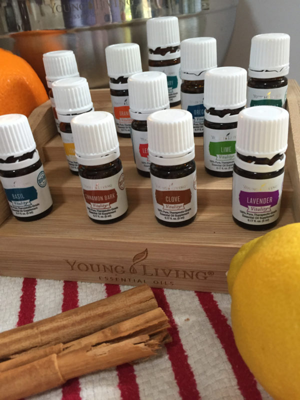 Cooking With Essential Oils from Nancy On The Homefront.