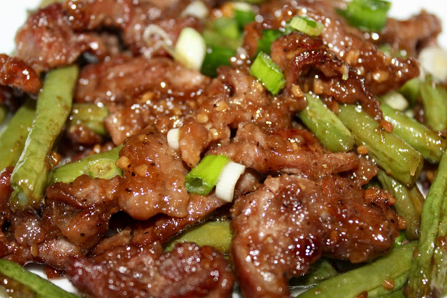Sheet Pan Mongolian Beef from Living On Cloud Nine.