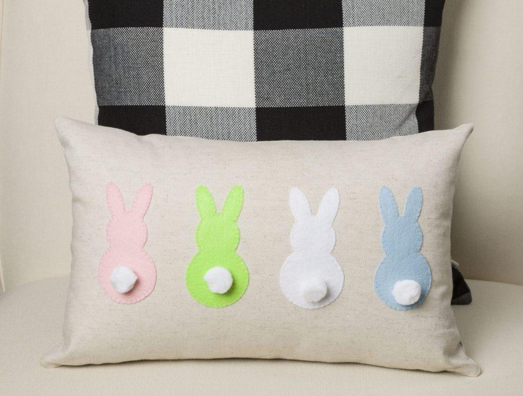 DIY Bunny Pillow Tutorial from Kippi at Home.