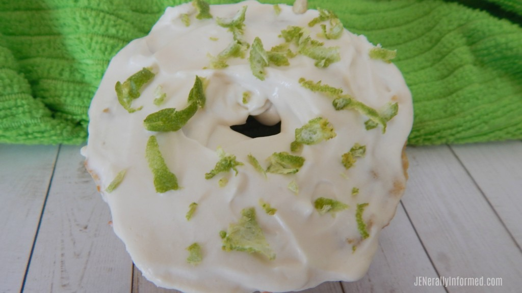 Keto Low Carb Key Lime Donuts