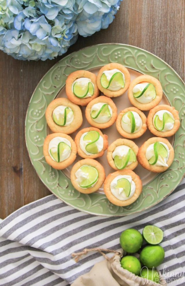 Key Lime Thumbprint Cookies from Unskinny Bop