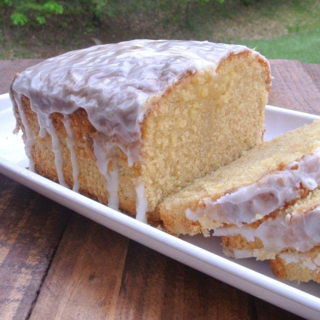 {Healthier} Iced Lemon Pound Cake from the Better Half