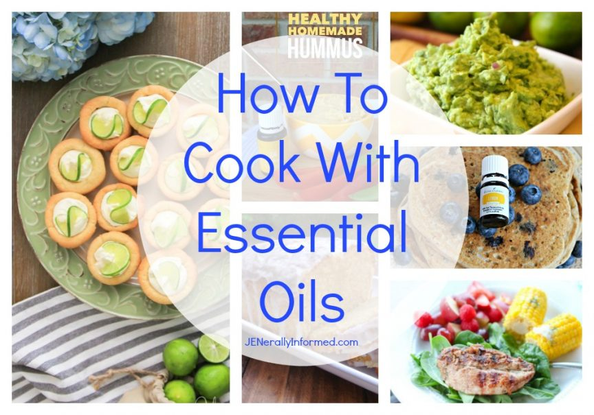 Cooking With Essential Oils: Ten Recipes To Try!