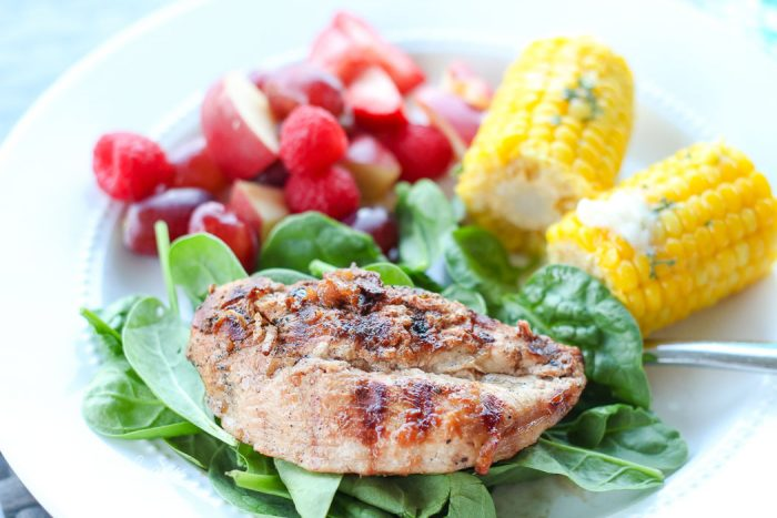 Delicious Ginger and Citrus Chicken Marinade from the Turquoise Home.