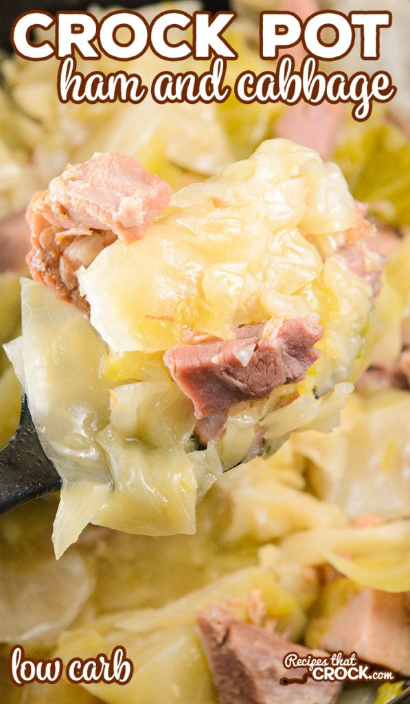 Crock Pot Ham and Cabbage (Low Carb) from Recipes That Crock.