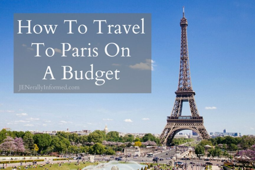Think traveling to Paris is out out your budget? It's not! Here's how to travel, save money and have the time of your life with @Gate1Travel! #ad