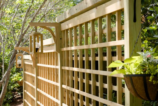 Garden Screen Trellis from Kippi at Home.