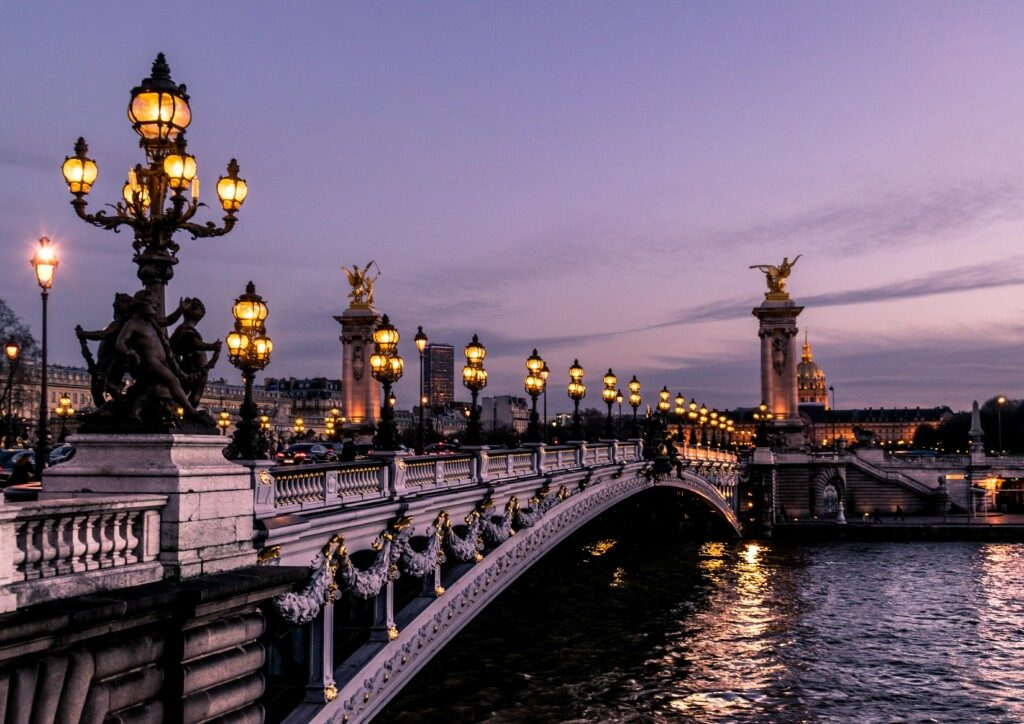 Parisian Bridge courtesy Unsplash and Léonard Cotte.