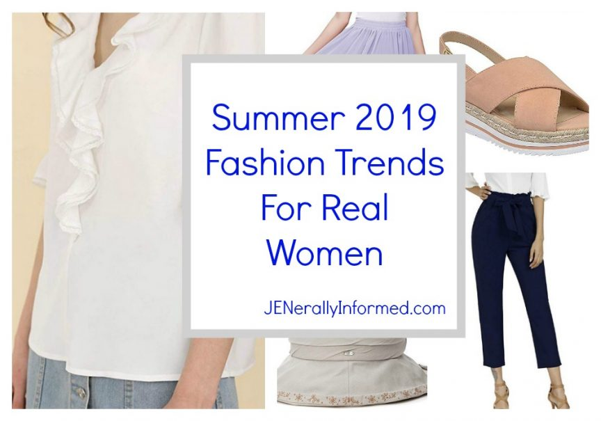 Summer 2019 Fashion Trends For Real Women #fashion #women #summer